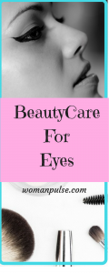 beauty care for eyes