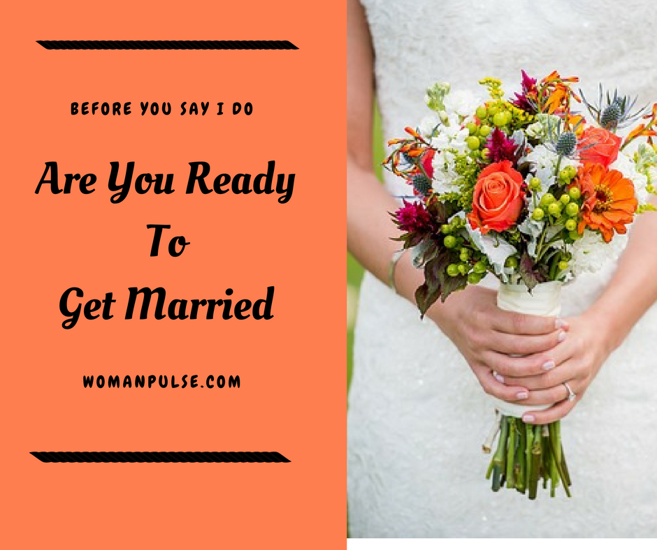 Are you ready to get married