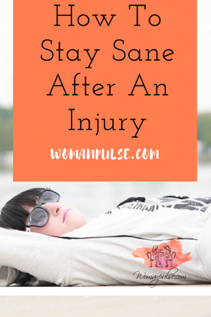 How to stay sane after an injury. Recovering from an injury can be boring and take its toll on mental health, here are some tips to help