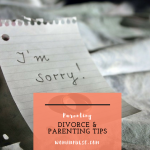 Parenting Tips When Going Through A Divorce