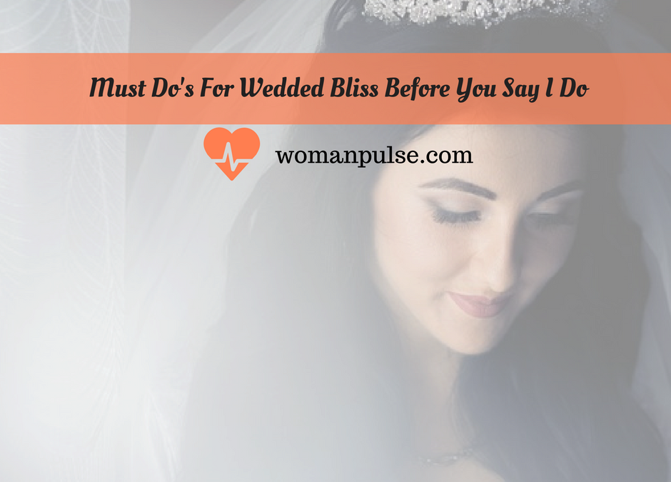 Wedding Day Must Do's To Check Off Your List